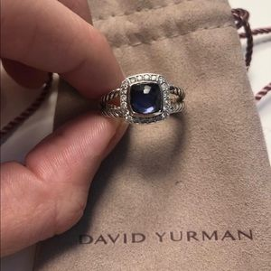 David Yurman Albion petite ring - Black Orchid